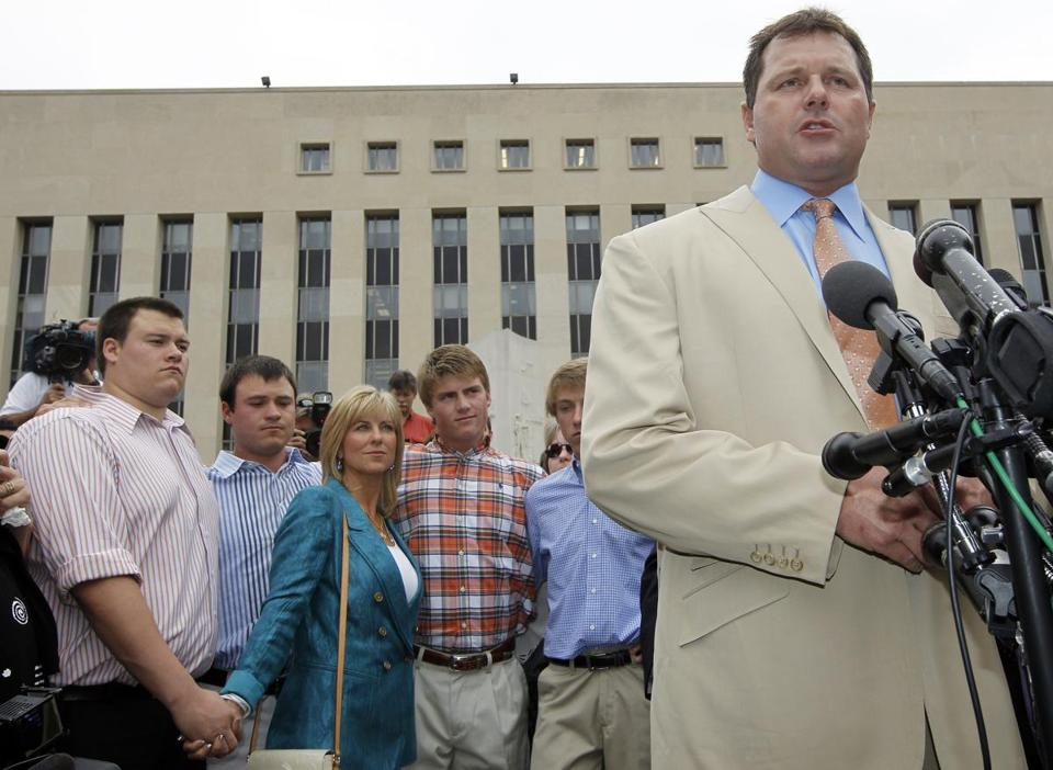 Roger Clemens walked out of federal court a vindicated man on Monday.