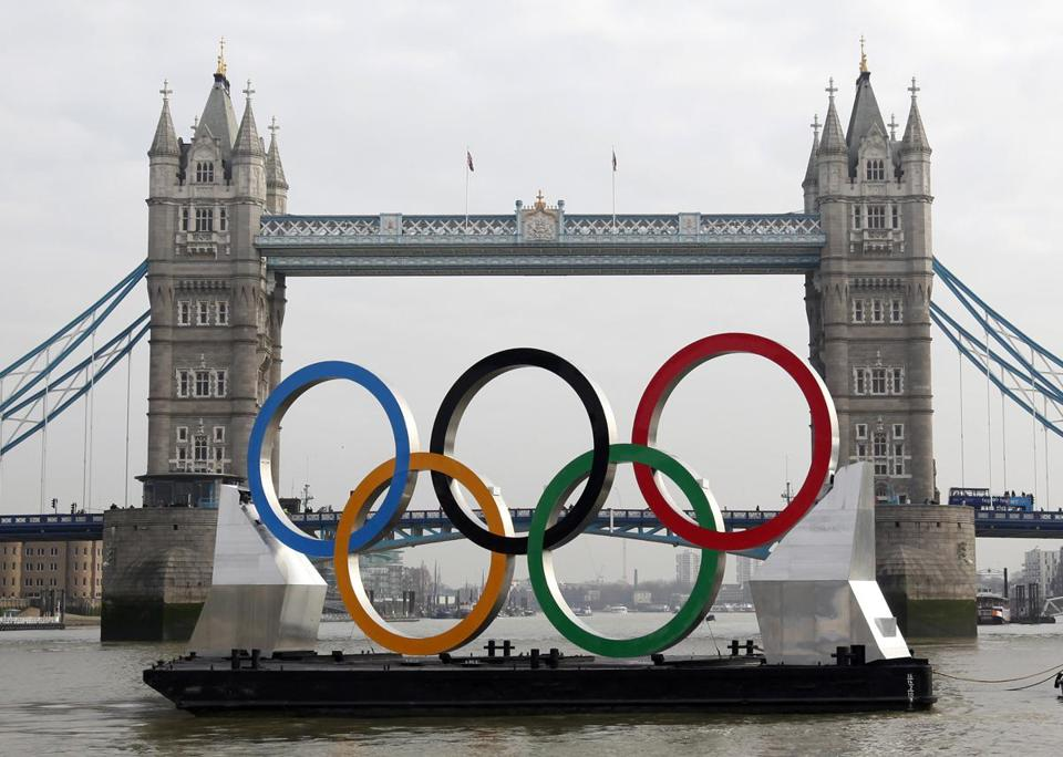 London is preparing to welcome the Olympics next month.