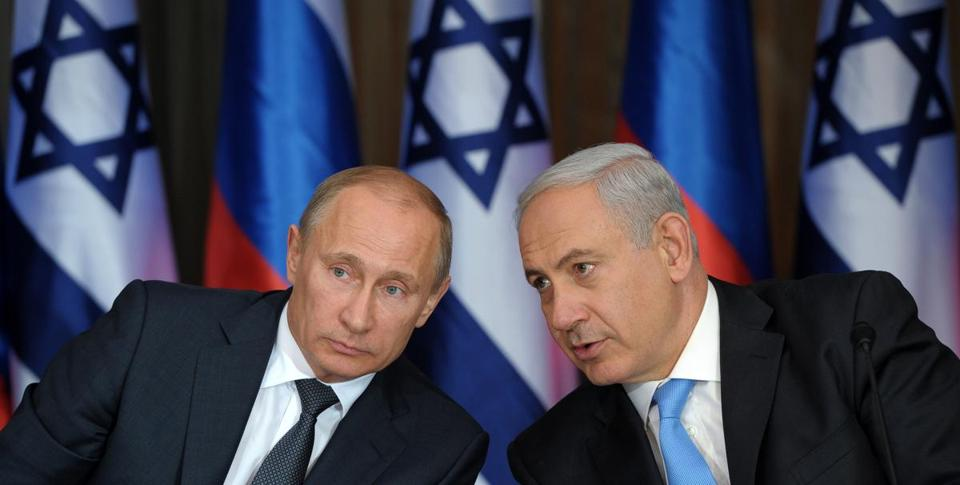 Russian President Vladimir Putin (left) visited Jerusalem Monday and spent time with Israeli Prime Minister Benjamin Netanyahu, discussing Iran's suspected nuclear program.