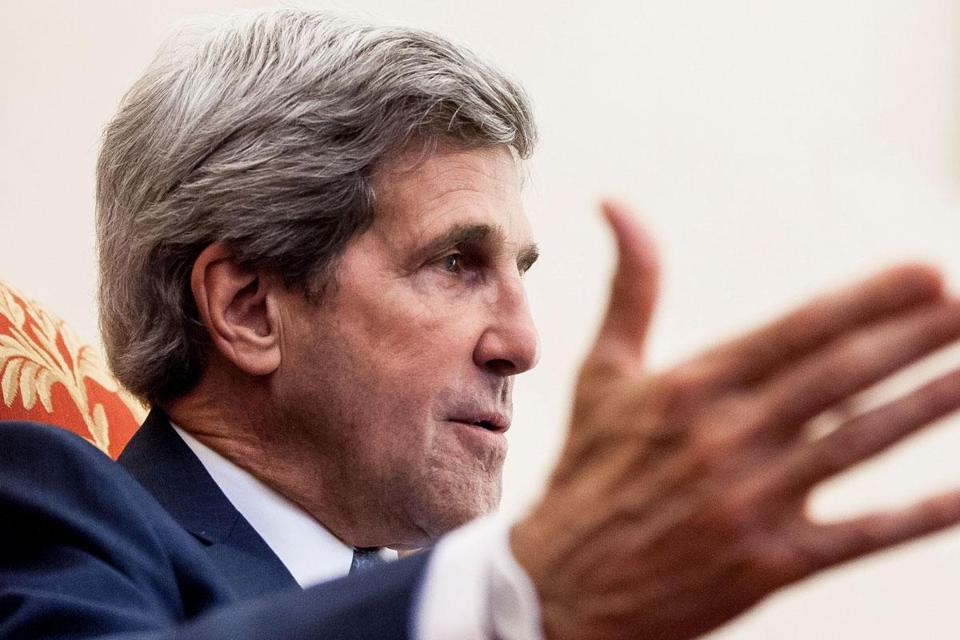 """It's worth fighting for. . . . This is about our economy, it's about jobs, it's also about our traditions and our values,"" Senator John Kerry said, at an event earlier this month launching a cranberry caucus."