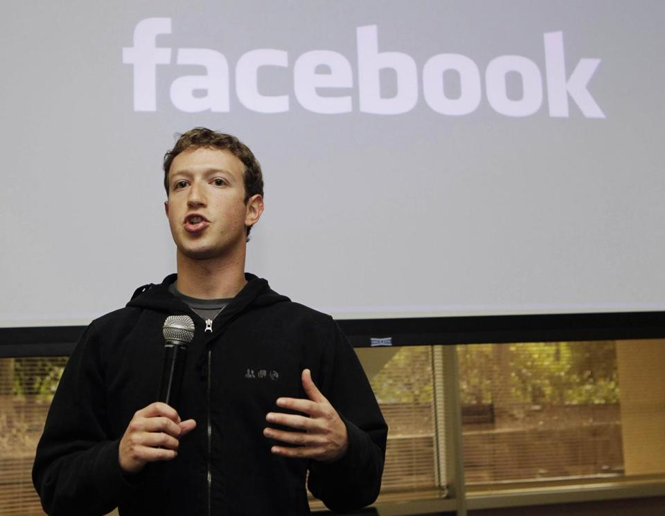 Facebook, founded by Mark Zuckerberg, has been rolling out new e-mail addresses for users.