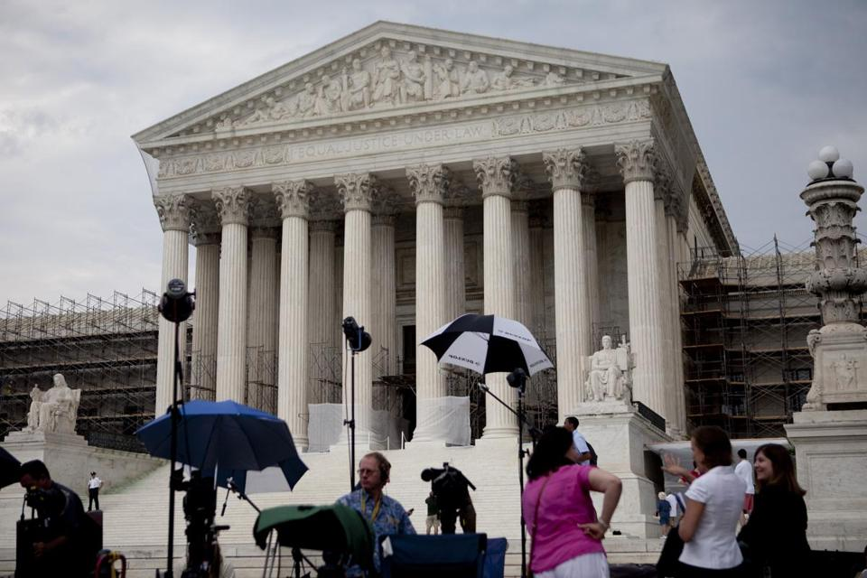 "The Supreme Court, in a 5-to-4 ruling, reaffirmed that ""political speech does not lose First Amendment protection simply because its source is a corporation."""