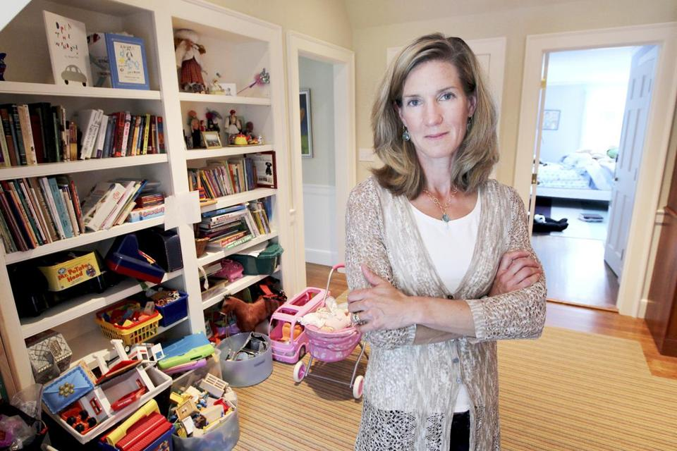 "Jessica Pohl of Weston has kids who have largely outgrown their toys, but she can't give them away. ""I'm saving them for my grandchildren."""