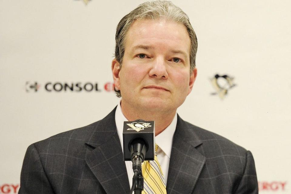 Pittsburgh GM Ray Shero (above) made a splash with the Jordan Staal deal, and now may go after Ryan Suter.