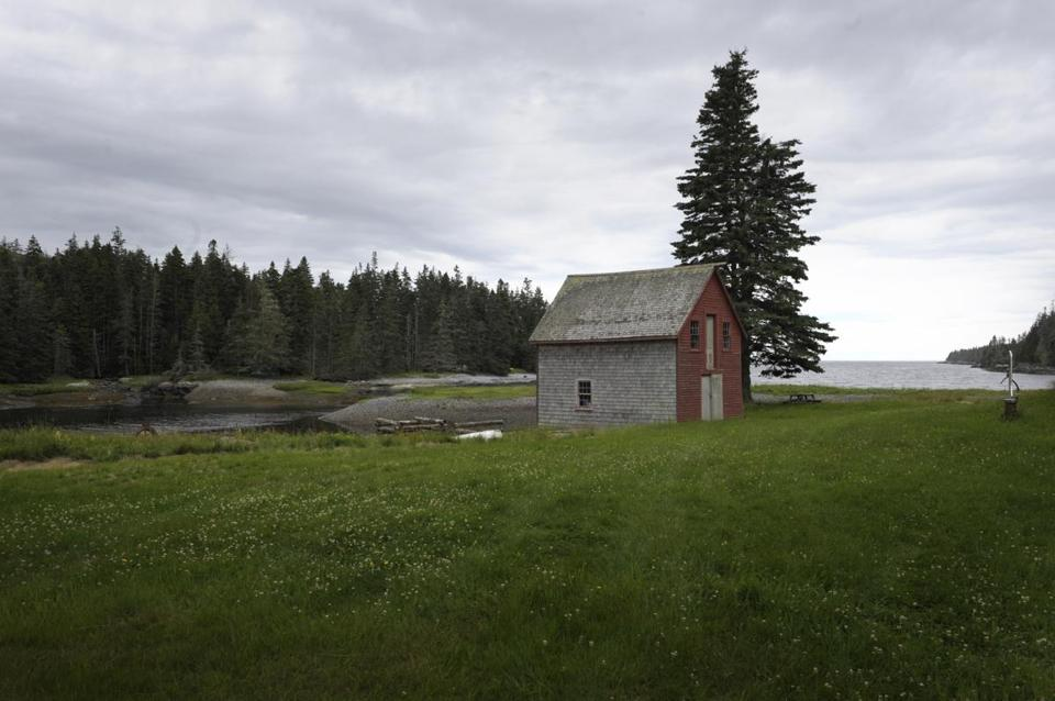 Residents of Isle au Haut (above) and other Maine outposts use housing grants to attract neighbors and preserve communities.