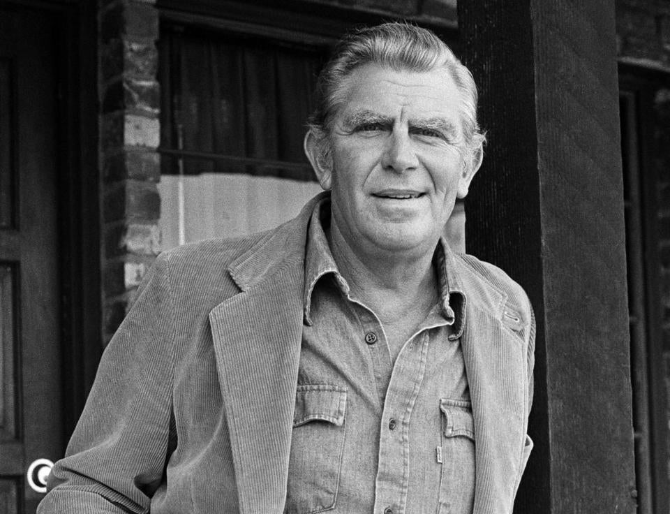 Andy Griffith in 1983.