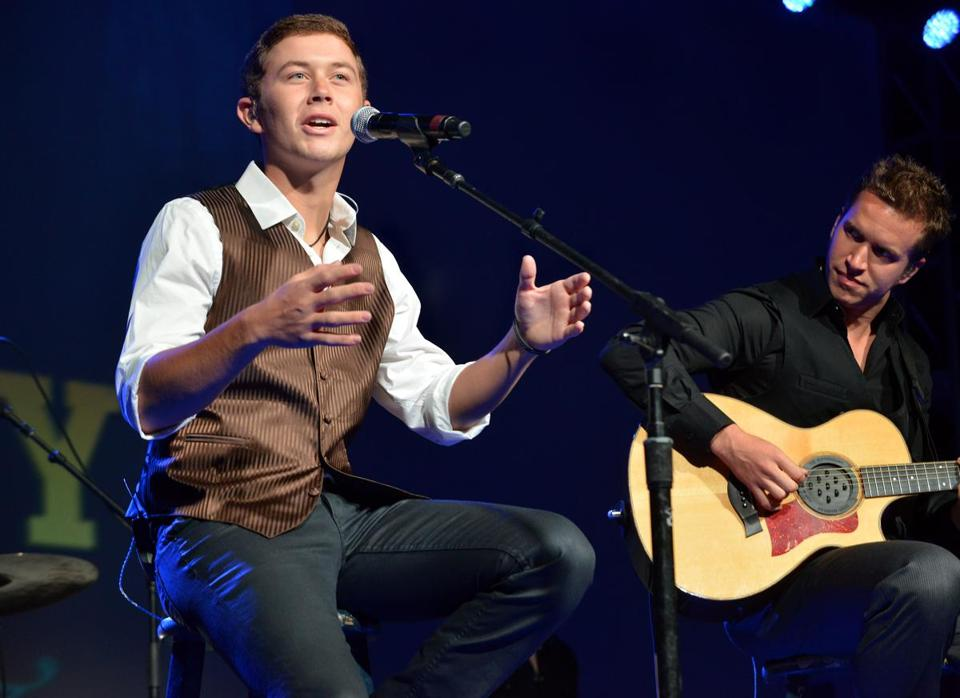 American Idol winner Scotty McCreery.