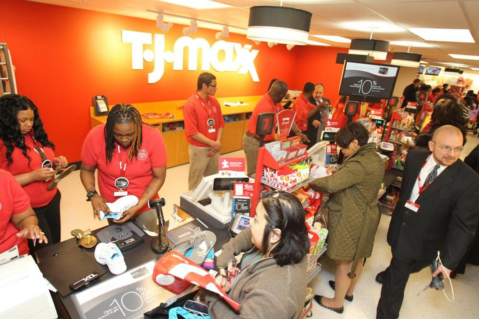 TJX runs more than 2,900 stores in six countries.