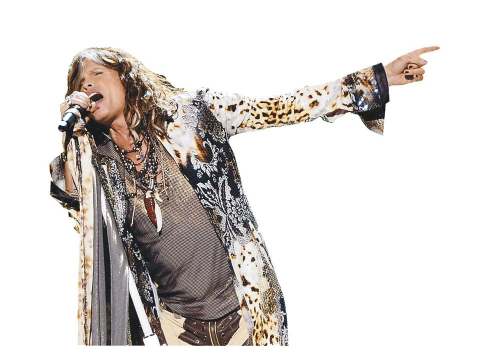 Steven Tyler will perform with Aerosmith at the TD Garden this week.