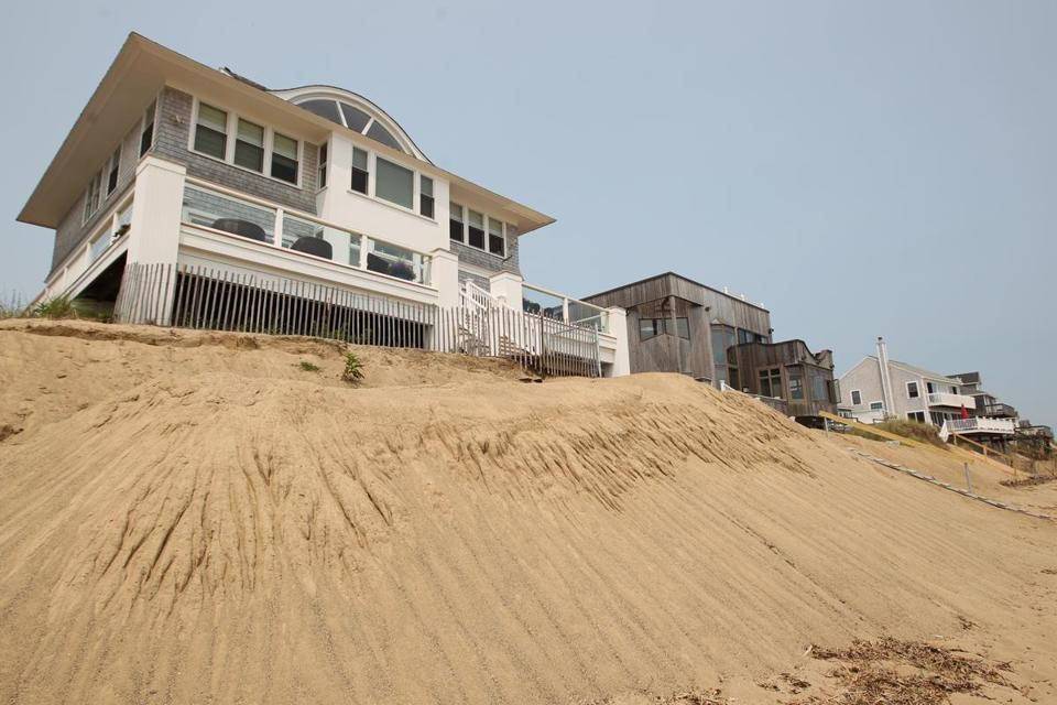 Some Annapolis Way homes on Plum Island are in danger.