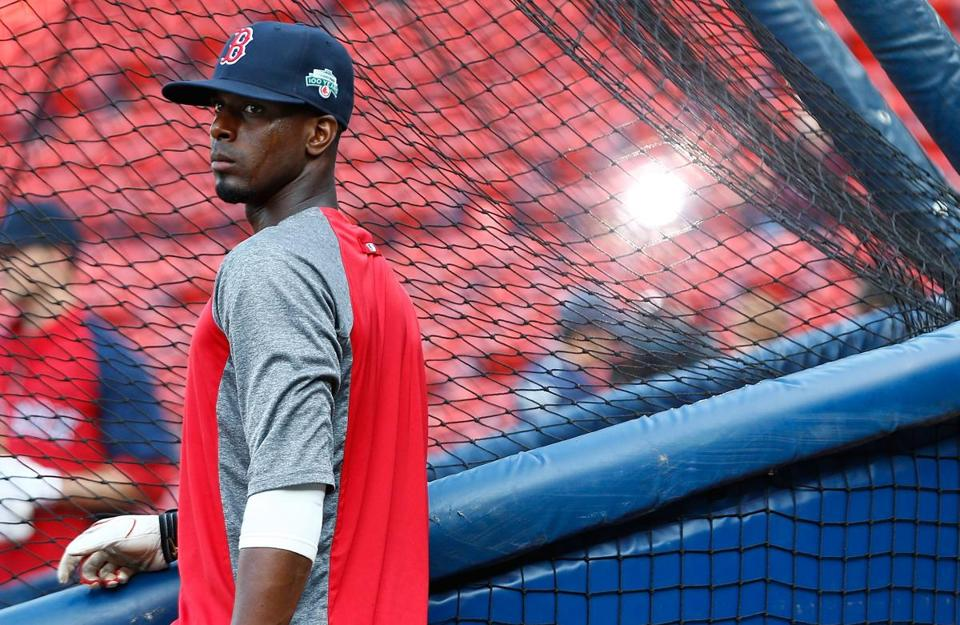 Pedro Ciriaco is 7 for 13 in three games since being called up from Pawtucket.