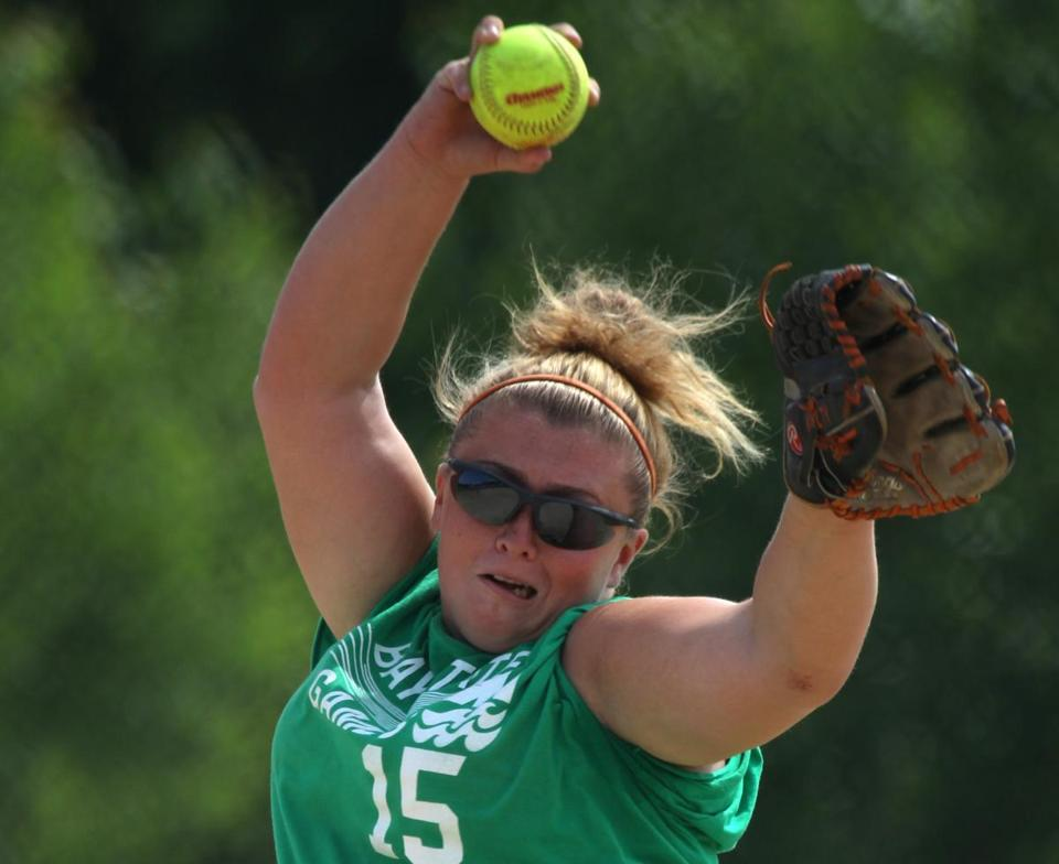 Coastal's silver-medal softball squad included pitcher Jackie Kielty, who will be a senior at Middleborough High School.