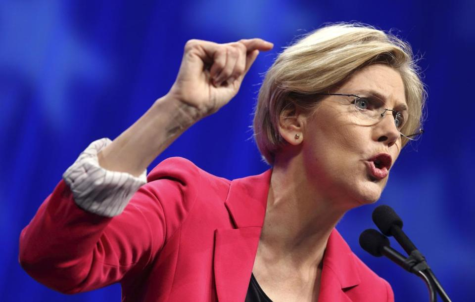 The Harvard professor raised about $400,000 in New York and about $320,000 in Los Angeles, compared with about $250,000 in Boston and just over $200,000 in Cambridge, according to a Globe analysis of Elizabeth Warren's unofficial numbers from her latest campaign filing.