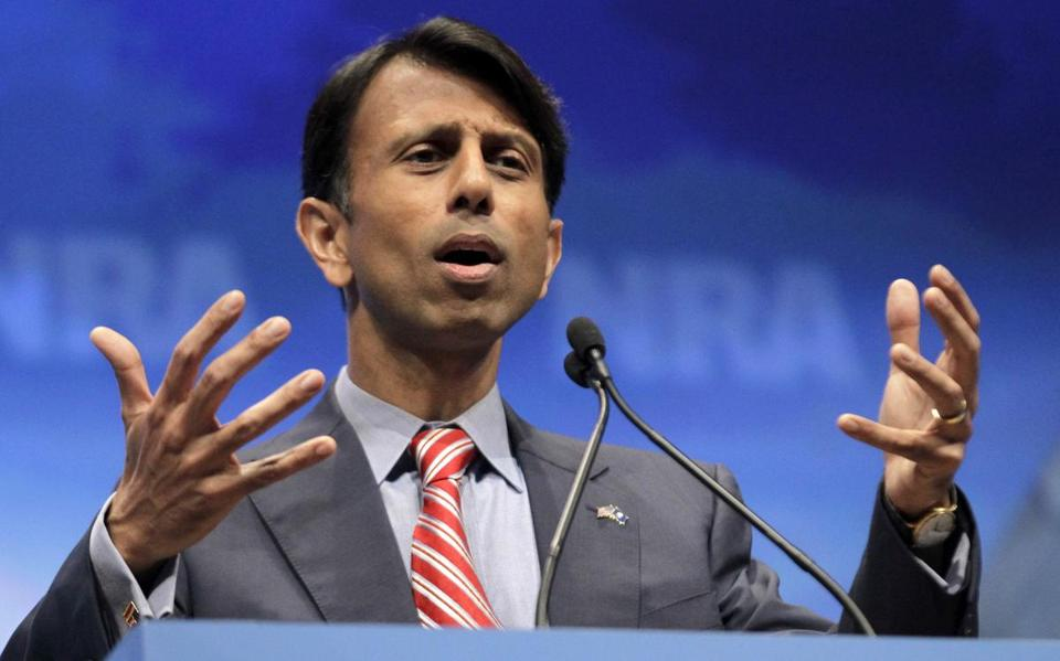 Mitt Romney met with Governor Bobby Jindal on a fundraising visit to Louisiana.