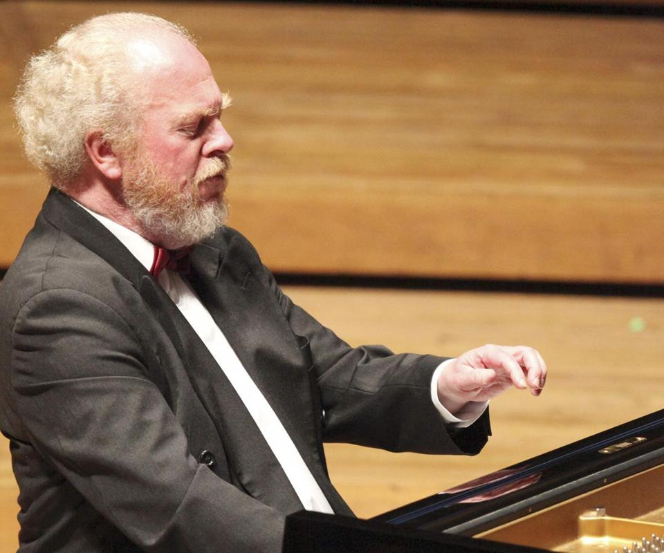 Gerhard Oppitz plays Wednesday in the first of his Brahms recitals in Lenox.