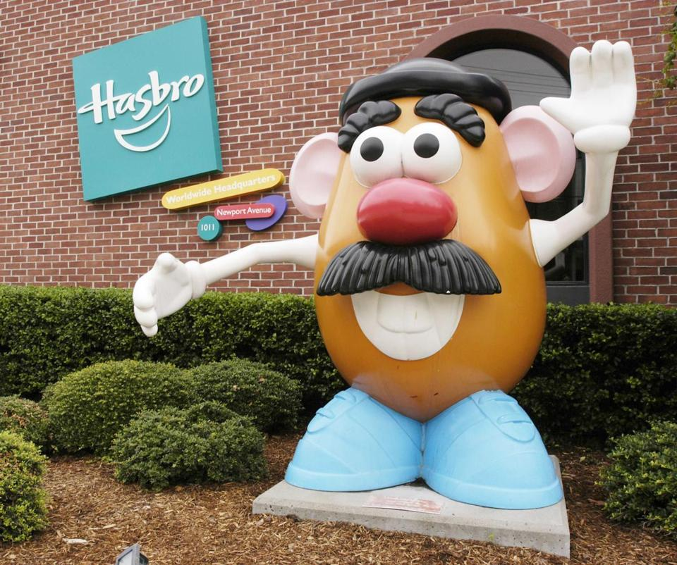 Hasbro's brands include Mr. Potato Head and Monopoly.