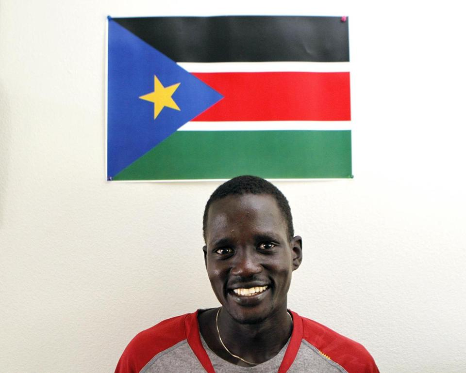 The IOC said Guor Marial could compete under the Olympic flag.