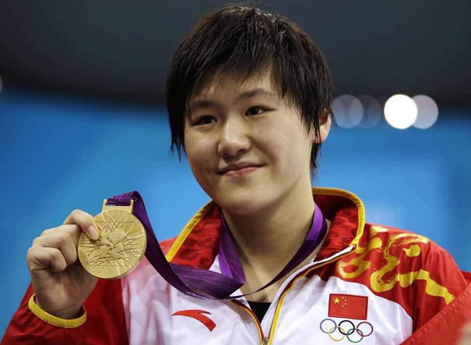 Despite all the uproar over over Ye Shiwen's monster swims in the individual medleys, the Chinese only won nine medals in the pool.