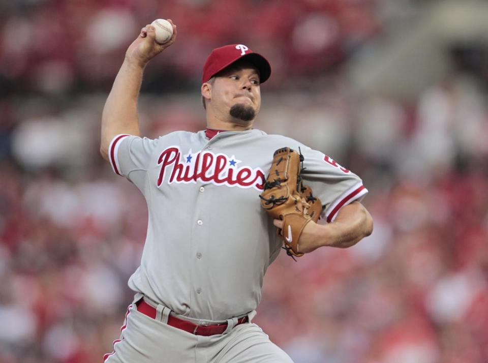 Joe Blanton was traded to the Dodgers after Los Angeles claimed him on waivers. Blanton will join outfielder Shane Victorino, who was sent from the Phillies to Los Angeles on Tuesday.