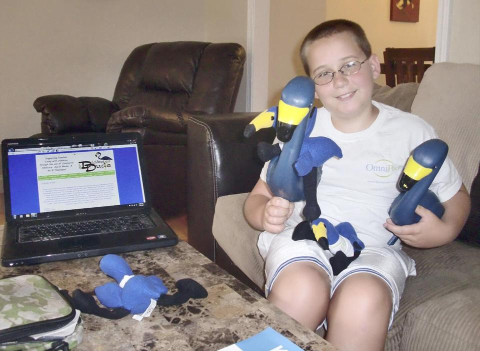 Noah Brokmeier is the face behind The Diabetes Dude, a diabetes awareness project based online.