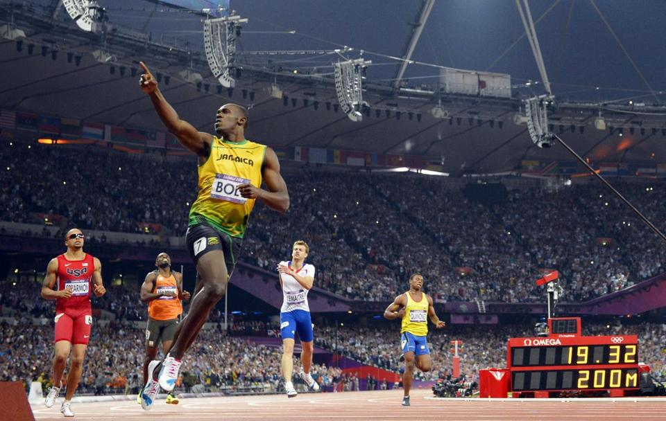 Usain Bolt left no doubt about who the No. 1 track star in the world is, rocketing to a victory in the 200-meter race for the second straight Olympics.