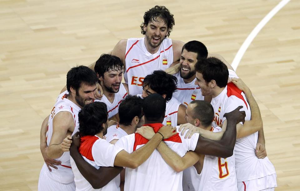 Sunday's final will be a rematch of the 2008 title game after Team USA and Spain won their respective semifinals.