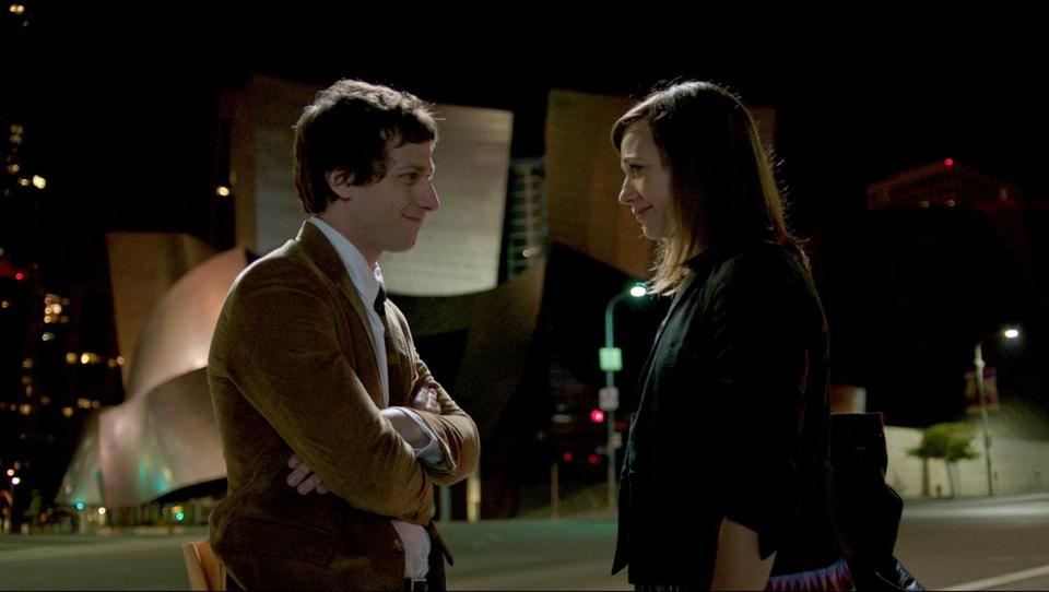 "Andy Samberg and Rashida Jones costar in ""Celeste and Jesse Forever,"" a romantic comedy that Jones co-wrote with Will McCormack."