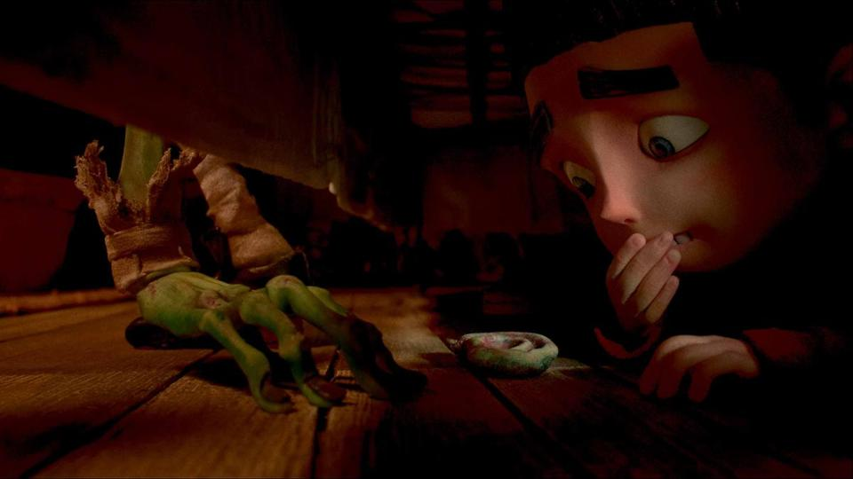 "There are frights aplenty for Norman in ""ParaNorman."""