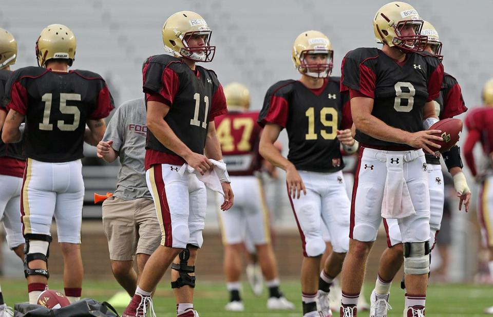 Boston College quarterback Chase Rettig (11) is expected to be the starting quarterback for the Eagles.