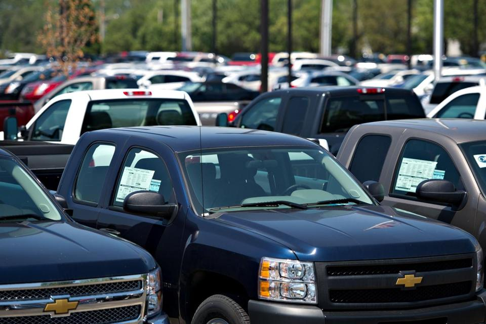 Chevy Silverado pickups are among those General Motors is offering deals on in an effort to get them moving.
