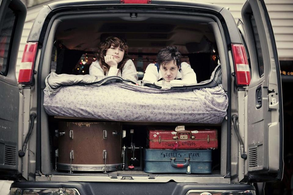 "Cary Ann Hearst and Michael Trent view themselves as a ""mom and pop"" band, and one that can play both loud and soft."