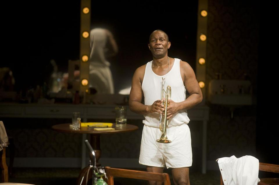 "John Douglas Thompson plays multiple roles, most importantly Louis Armstrong, in ""Satchmo at the Waldorf"" at Shakespeare and Company."