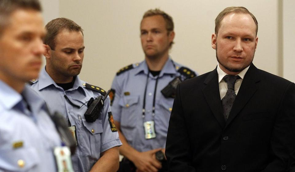 Anders Behring Breivik was jailed for a maximum term on Friday when judges declared him sane enough to answer for the murder of 77 people last year.