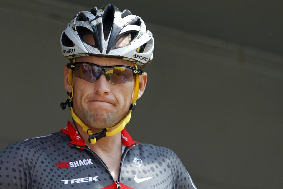 Lance Armstrong, weary of the doping charges that stain his seven Tour de France titles, gave up fighting the claims.