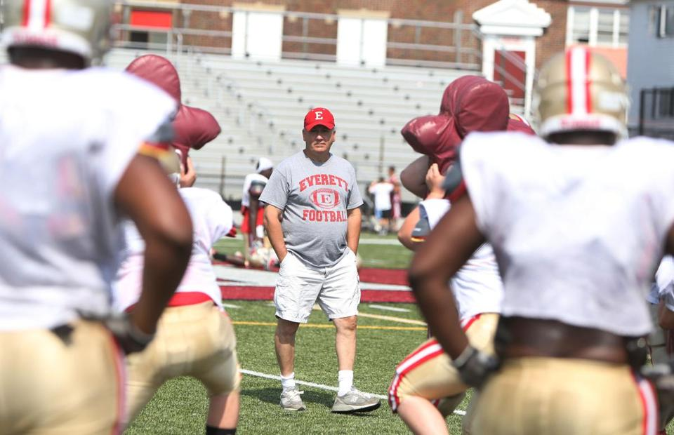 Everett head coach John DiBiaso finished last season with the top-ranked team, and opens this season in the same spot.