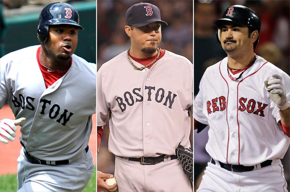 Carl Crawford, Josh Beckett, and Adrian Gonzalez have underachieved and are on the verge of being traded to the Los Angeles Dodgers.