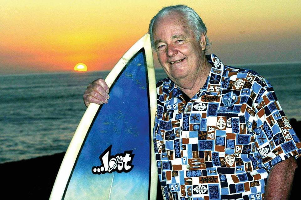 Terry Tracy, who got into surfing at age 15, never lost his passion for the sport or the carefree lifestyle it fostered.