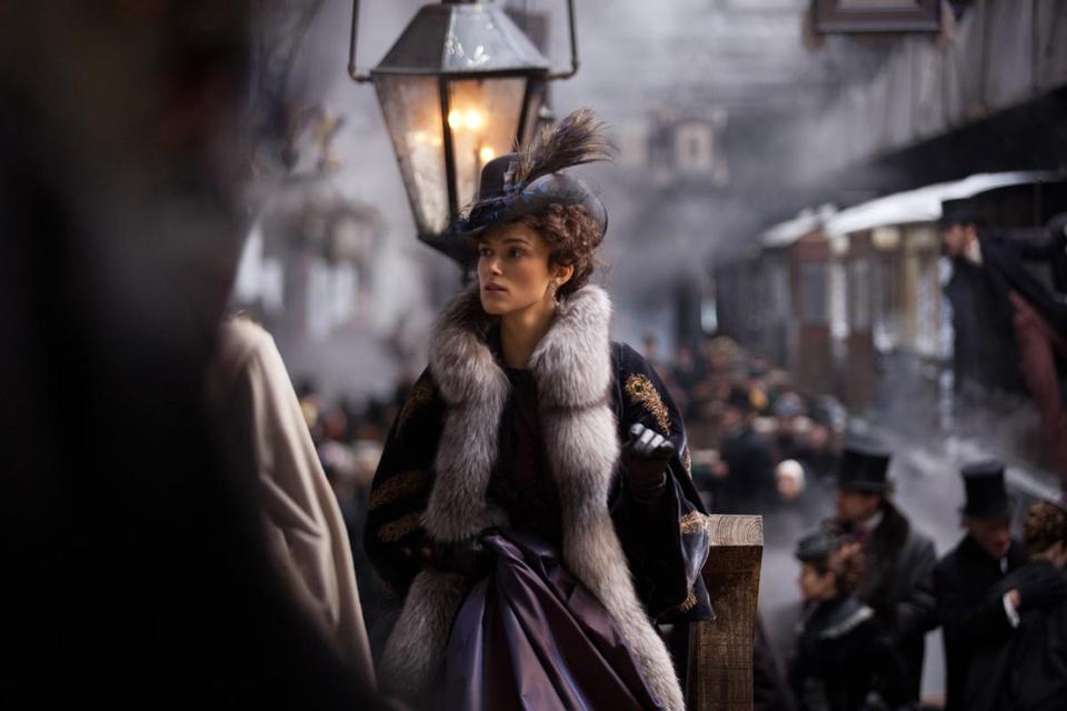 "Keira Knightley stars as the title character in ""Anna Karenina."""
