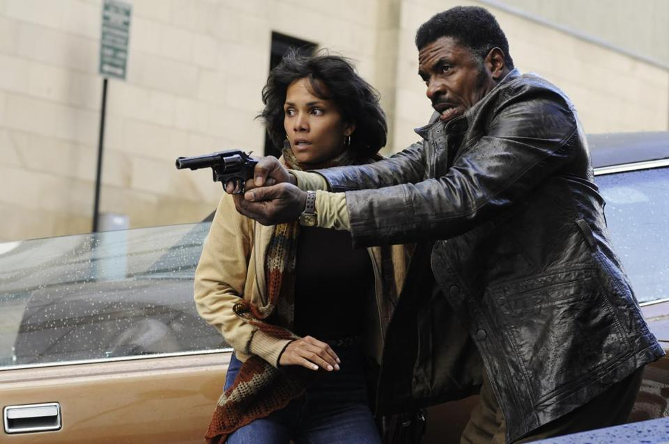 "Halle Berry and Keith David in ""Cloud Atlas."""