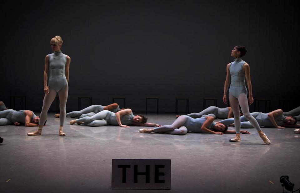 "In August, Boston Ballet rehearsed ""The Second Detail,"" which the company will perform in London next year."