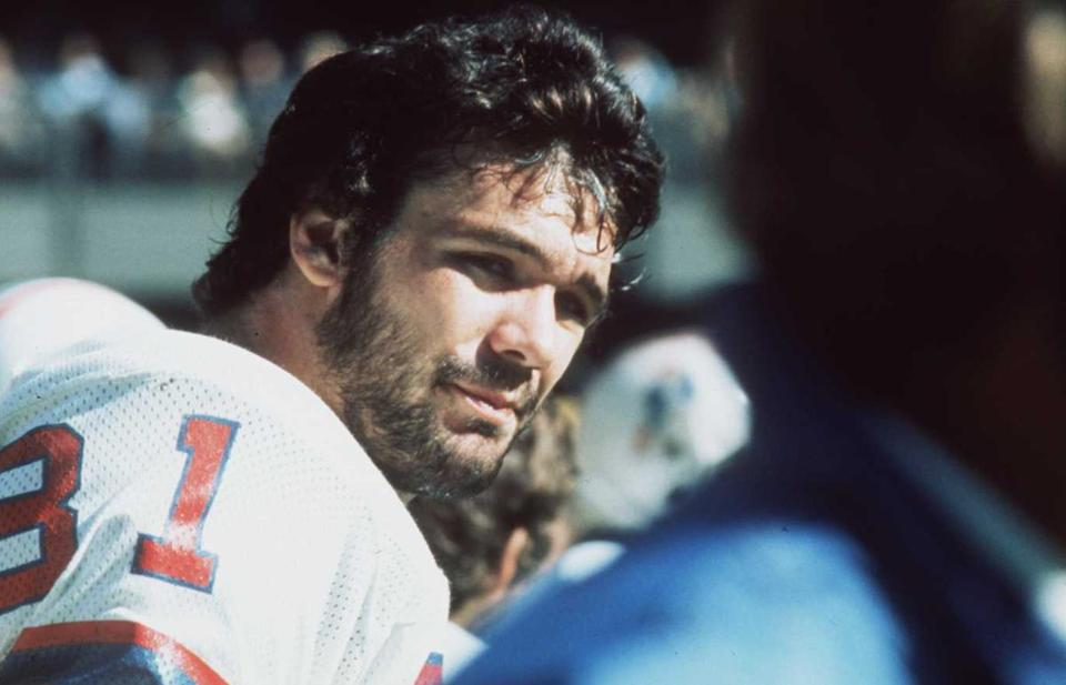 Russ Francis became a three-time Pro Bowl tight end for the Patriots from 1976-78.
