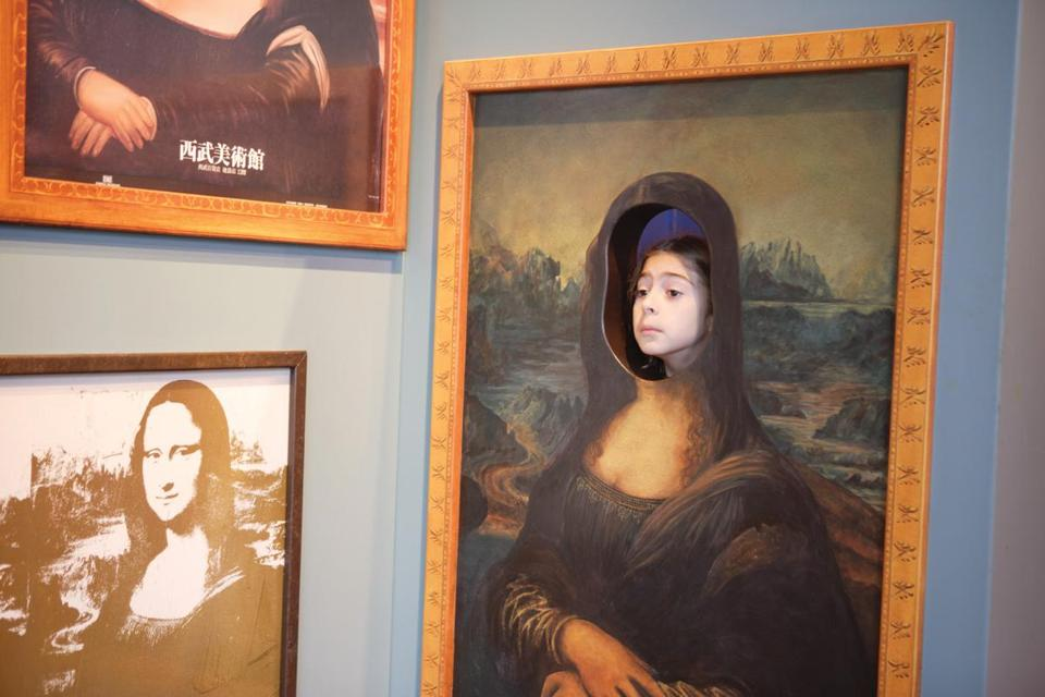 "Kids can be part of art history by stepping inside historic artworks in ""Framed"" at the Boston Children's Museum."