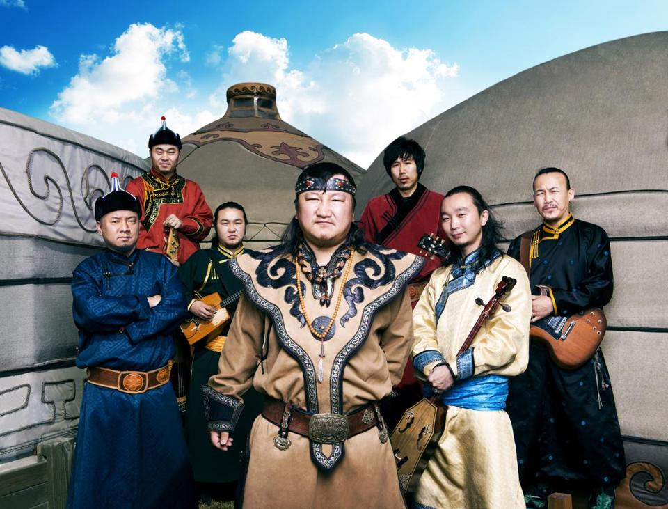 The Mongolian band Hanggai performs Sept. 27 at Johnny D's in Somerville.