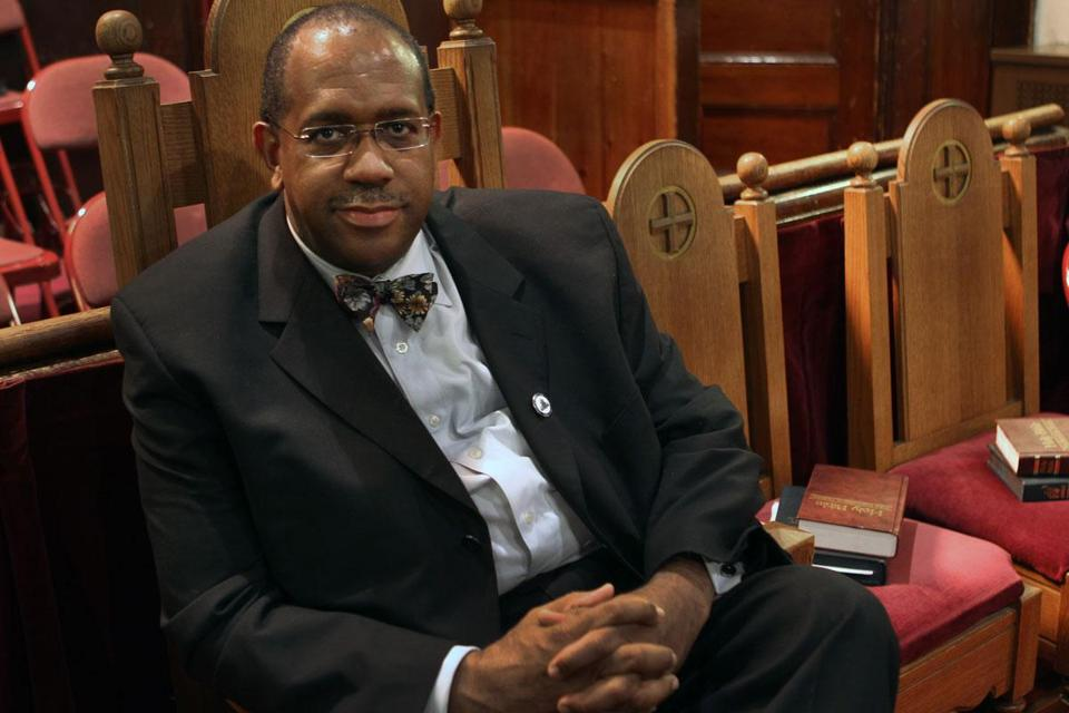 The Rev. Gregory Groover denies starting any protests.