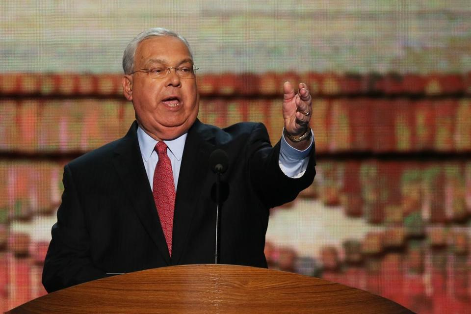 Boston Mayor Thomas M. Menino spoke during day two of the Democratic National Convention.