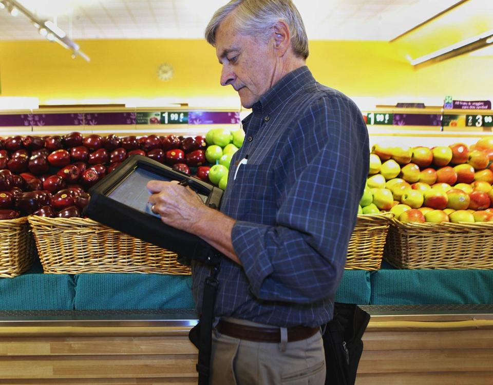 Dan Dugan collects data for the Consumer Price Index, which affects households as well as corporate executives.