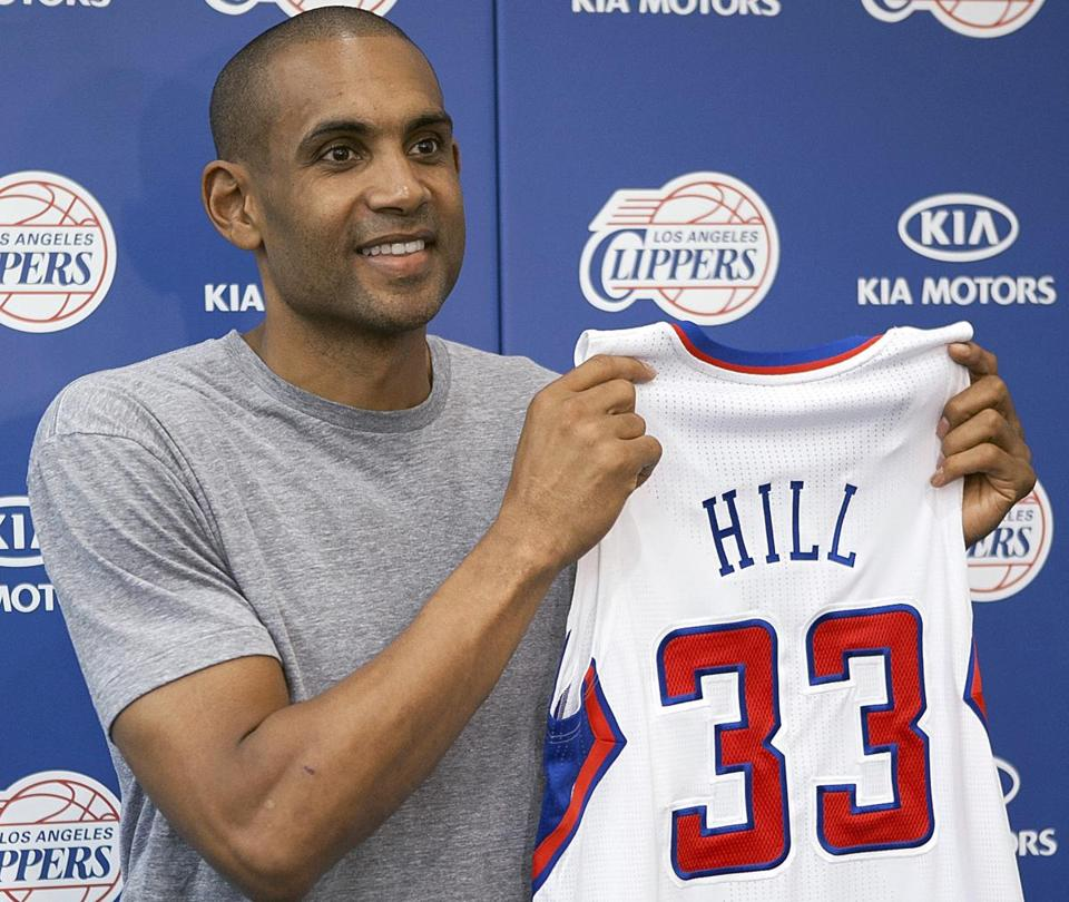Grant Hill, nearly 40, has perhaps his best chance to win a championship, serving as a mentor and productive bench player with the Clippers.