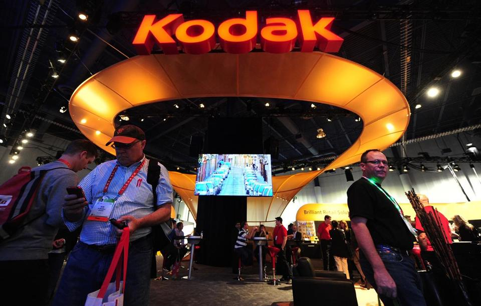 Kodak participated in the International Consumer Electronics Show in Las Vegas earlier this year.