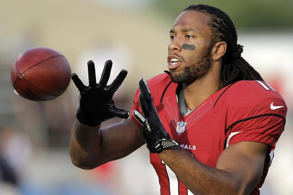 Larry Fitzgerald has missed just four games since being drafted third overall in 2004, and at 29 already is closing in on 700 career receptions.