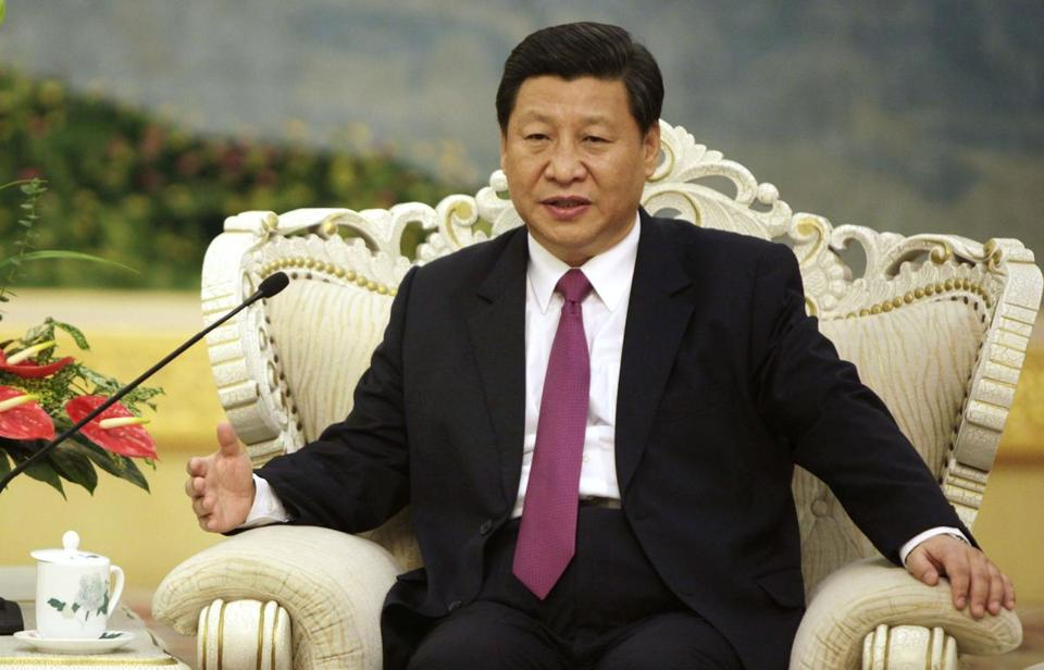 Next year, Xi is supposed to take over as president.